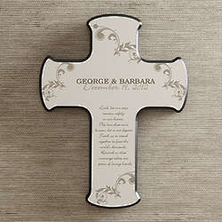Marriage Blessings Personalized Wall Cross
