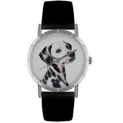 Dalmatian Print Watch in Silver Classic