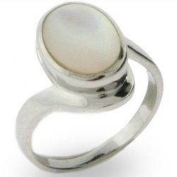 Bella's Twilight Inspired Mother of Pearl Ring