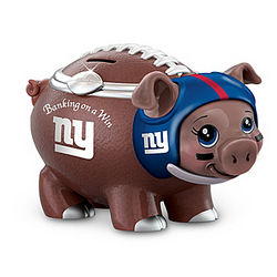 Banking on a Win New York Giants Piggy Bank