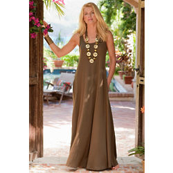 Santiago Scoopneck Maxi Dress