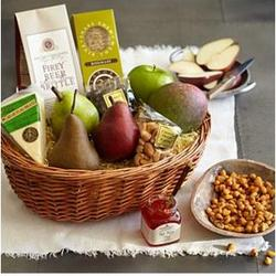 Some Like It Hot Fruit and Nut Gift Basket