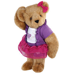 Glitter Whimsy Teddy Bear Stuffed Animal