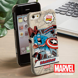 Marvel Comics Personalized iPhone 5 Case