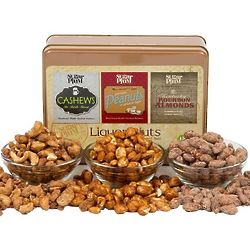 1 Pound Assortment of Liquor Nuts in Gift Tin