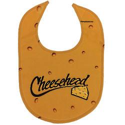 Cheesehead Baby Bib