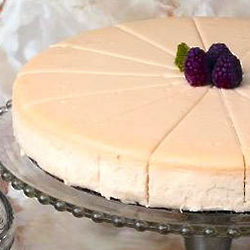 No Sugar Added Cheesecake