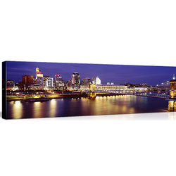 Ohio River Cincinnati OH Canvas