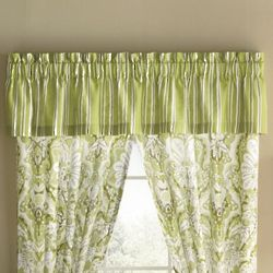 Cecily Victorian Stripe Window Valance