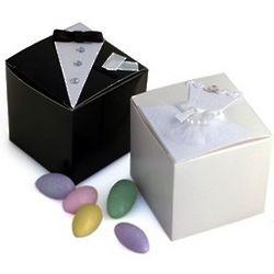 Bride/Groom Wedding Favor Box