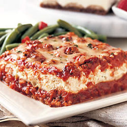 Traditional Beef Lasagna Dinner for 4