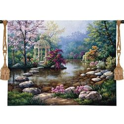 Gazebo on the Water Tapestry