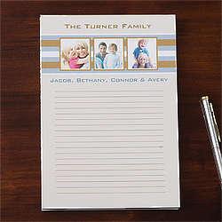 Personalized Custom Photo Notepad