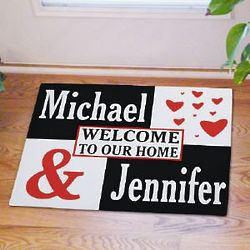 Just the Two of Us Doormat