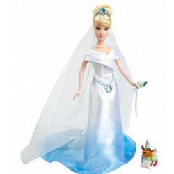 Cinderella Fairytale Wedding Doll