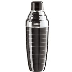 Pin Striped Stainless Steel Cocktail Shaker