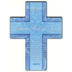 Personalized Children's Morning Prayer Twinkling Star Cross