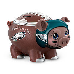 Banking on a Win Philadelphia Eagles Piggy Bank
