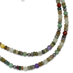 Colors of the Canyon Beaded Necklace