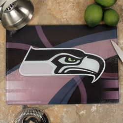 Seattle Seahawks Carbon Fiber Cutting Board
