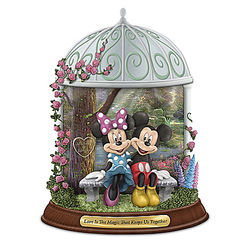 The Magic That Keeps Us Together Personalized Mickey Figurine