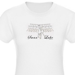Swan Lake Jr. Jersey T-Shirt