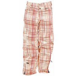 Checked Out Snowboard Pants Linen Plaid