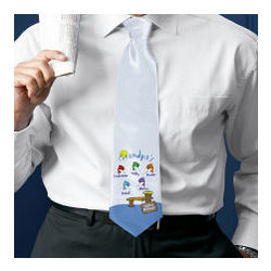 Fishing Buddies Personalized Neck Tie