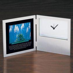 Essence of Leadership Desk Clock