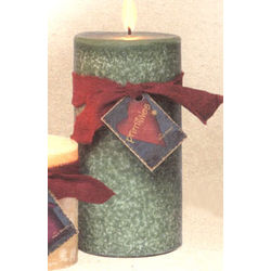Large Scented Pillar Candle