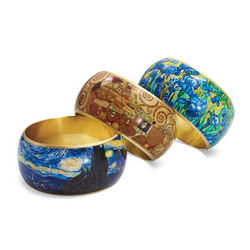 Van Gogh Irises Bangle