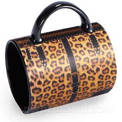 Leopard Print Handbag Mug