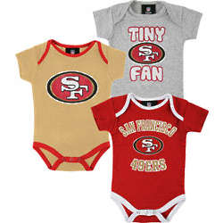 San Francisco 49ers Infant Creepers