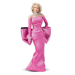 Diamonds are a Girl's Best Friend Marilyn Monroe Fashion Doll
