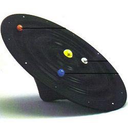 Galaxy Suspension Clock