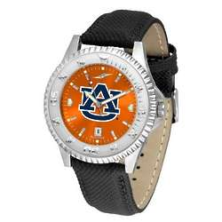 NCAA Competitor AnoChrome Poly Leather Band Watch
