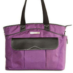 Purple Newport Laptop Handbag