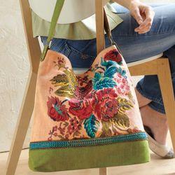 Embellished Roses Handbag
