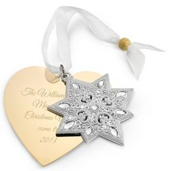 2013 Make A Wish North Star Christmas Ornament