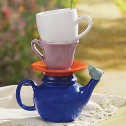 Tea Party Ceramic Vase