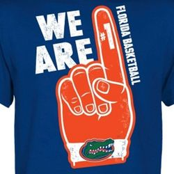 Florida Gators Basketball We are #1 T-Shirt