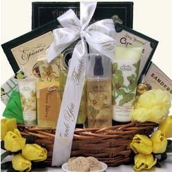 Vanilla Orchid Administrative Professionals Day Spa Basket