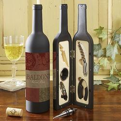 Fleurish Wine Bottle Personalized Wine Accesory Gift Set