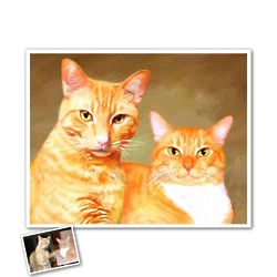 Custom Oil Painting Style Giclee Print from Photo