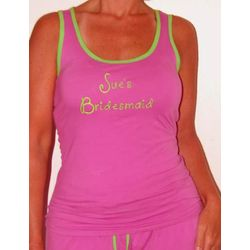 Personalized Bridesmaid Pajamas