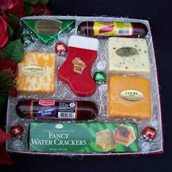 Seasons Greetings from Wisconsin Cheese Gift Box