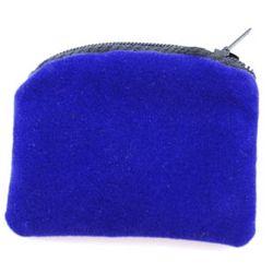 Blue Velvet Rosary Case