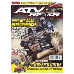 ATV Rider Magazine Subscription