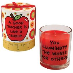 A Good Teacher Candle