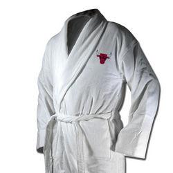 Chicago Bulls Terrycloth Logo Bathrobe